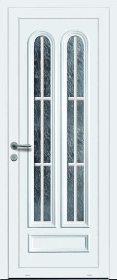 Porte d'entrée PVC rénovation originale