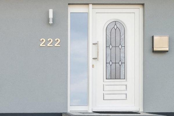 Porte d'entrée PVC – Classique