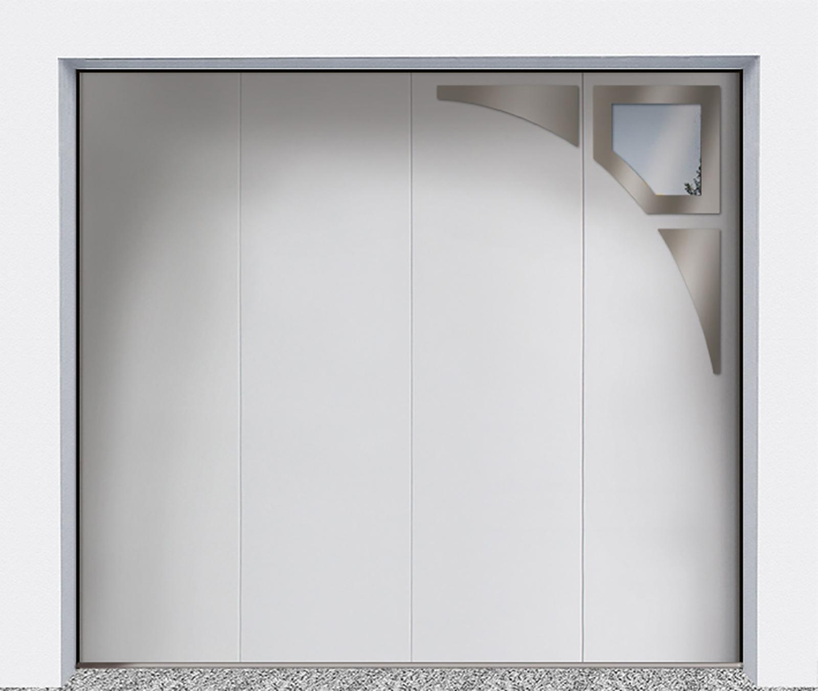 Portes de garage sectionnelles latérales