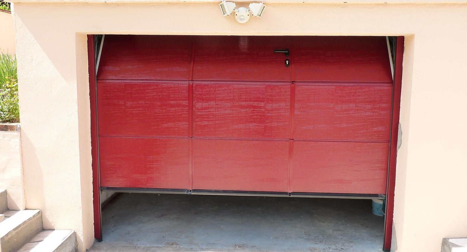 Banniere produit Porte de garage sectionnelle plafond