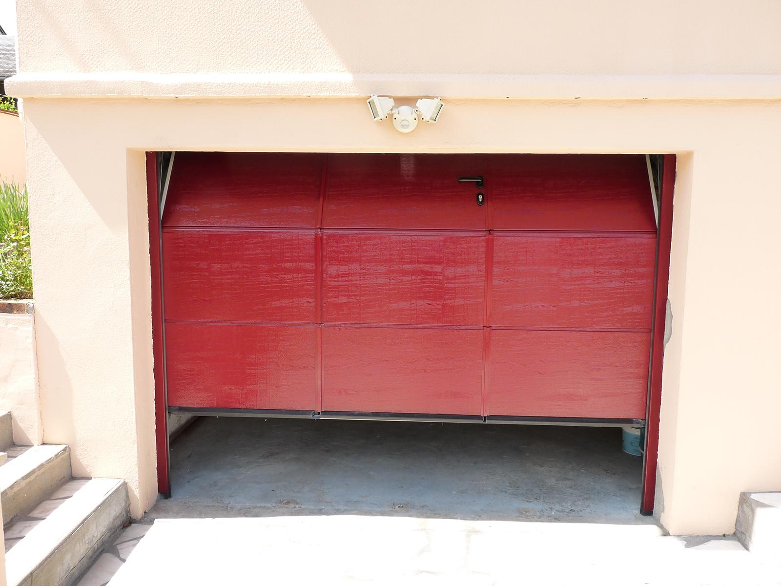 Banniere produit Portes de garage sectionnelles plafond