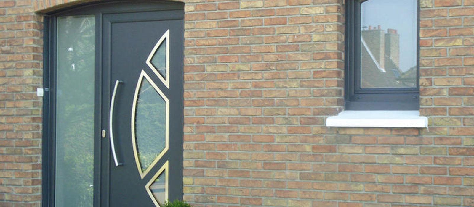 Banniere produit Porte d'entrée Alu – Moderne