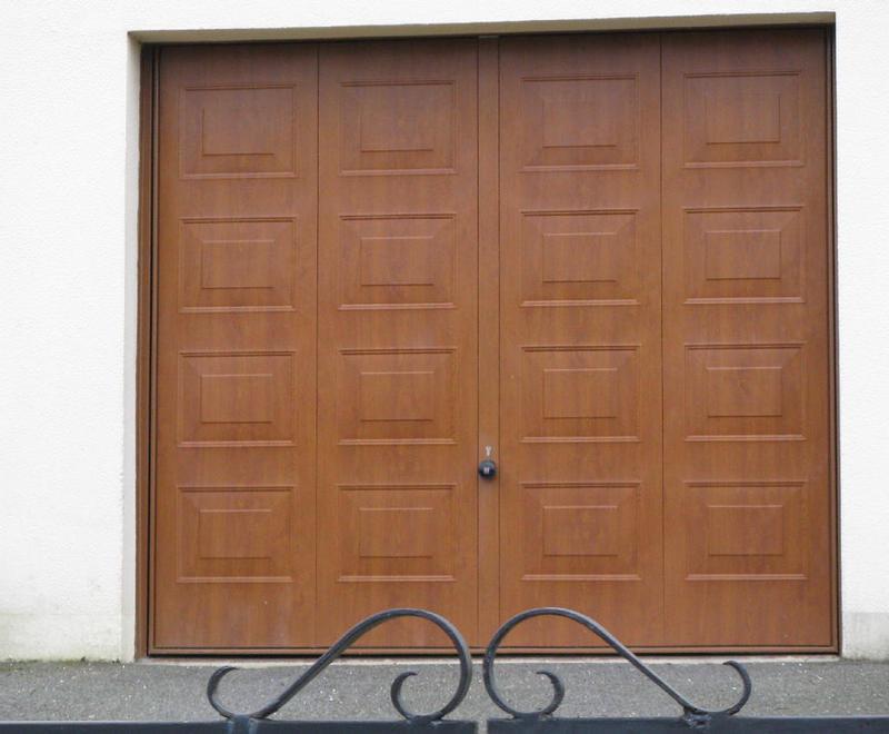 Portes de garage basculantes b 39 plast fen tres portes for Porte de garage b plast