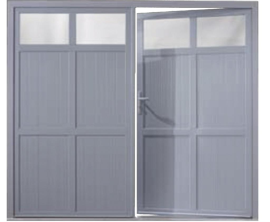 Portes de garage battantes b 39 plast fen tres portes for Porte de garage seclin
