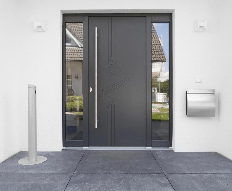 Porte d'entrée Alu – Moderne