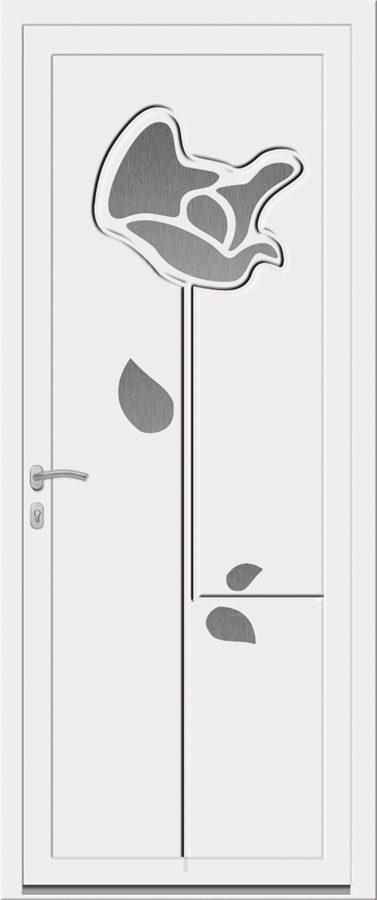 Porte d'entrée PVC moderne originale