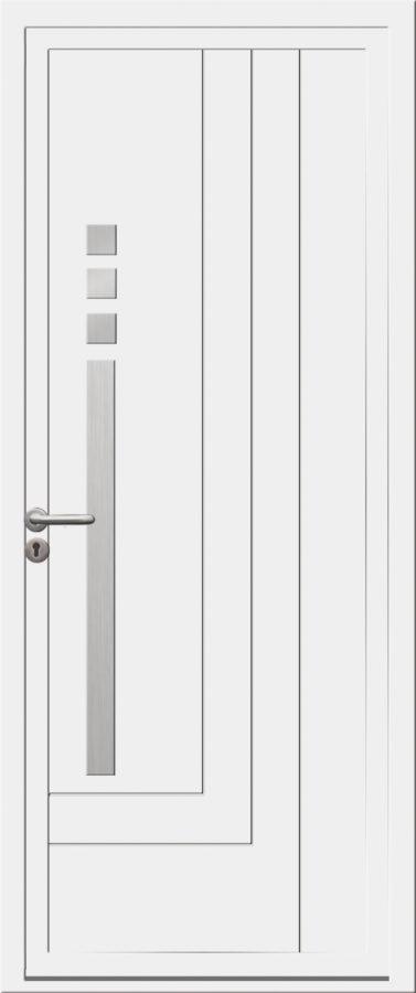 Porte PVC avec trait