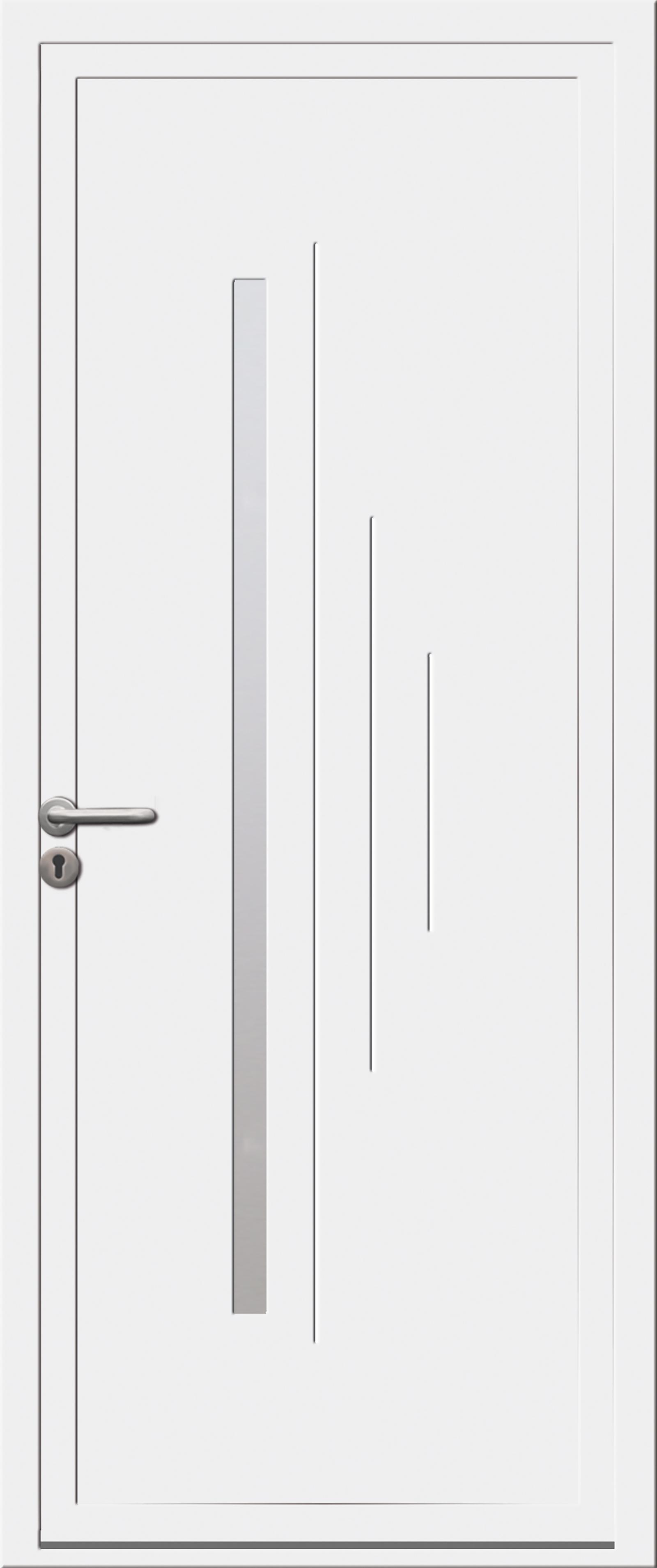 Porte PVC – Moderne
