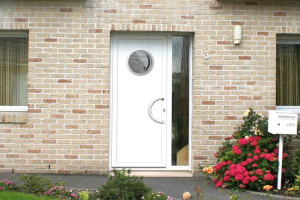 Porte d'entrée PVC – Moderne