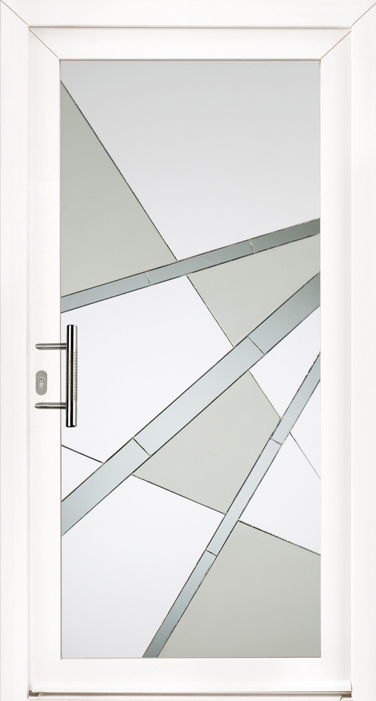 Porte d'entrée – Panneau en verre