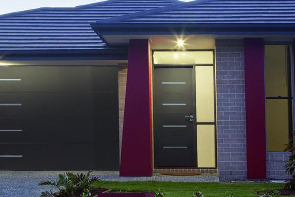 Porte d'entrée Alu – Monobloc