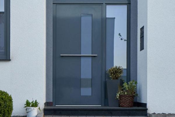expertiseZoom sur… La porte d'entrée vitrée