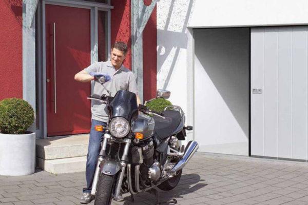 expertiseZoom sur… La porte de garage coulissante